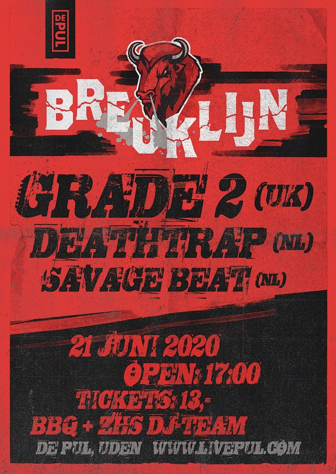Breuklijn: Grade 2 (UK), Savage Beat & Deathtrap