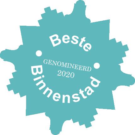 Genomineerd voor beste middelgrote binnenstad 2020